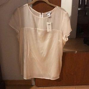 Size L Cache white blouse